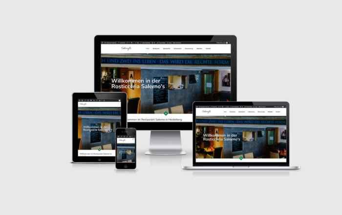 Restaurant Salerno Heidelberg - Website