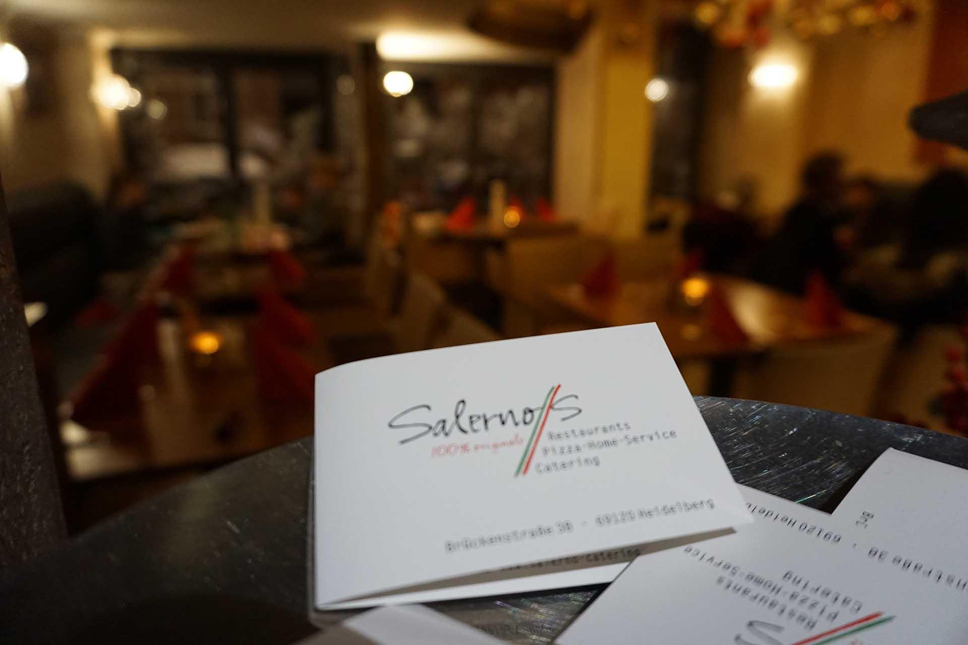 Lieferservice Getränke | Restaurant Salerno´s Heidelberg